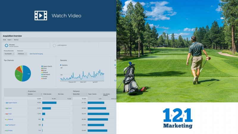 Google Analytics for Golf Courses