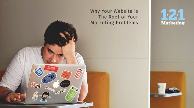 Why Your Website is The Root of Your Marketing Problems