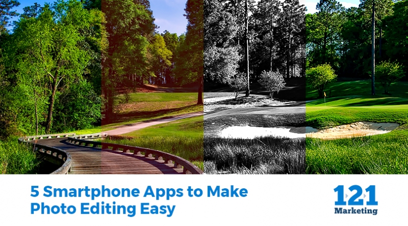 5 Smartphone Apps to Make Photo Editing Easy