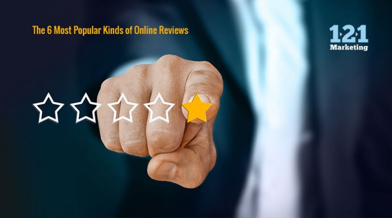 The 6 Most Popular Kinds of Online Reviews