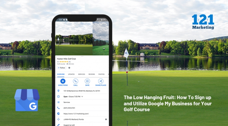 The Low Hanging Fruit: How To Sign up and Utilize Google My Business for Your Golf Course