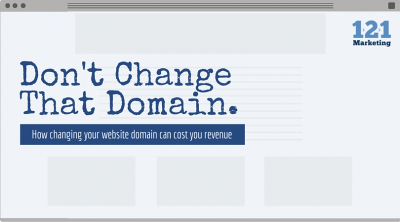 Don't Change That Domain!
