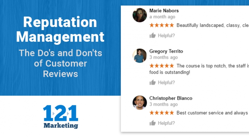 Reputation Management: Why and How You Should Respond to Online Reviews