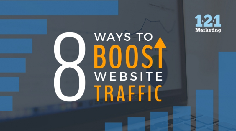 8 Ways to Boost Website Traffic