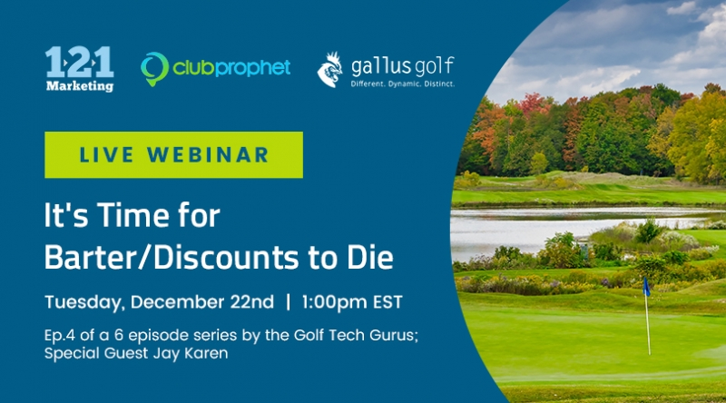 Webinar: It's Time for Barter & Discounts to Die