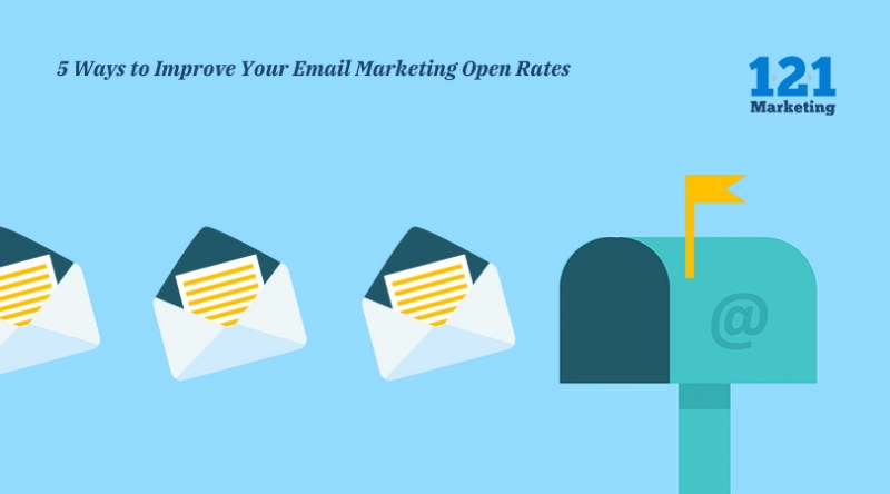 5 Ways to Improve your Email Marketing Open Rates